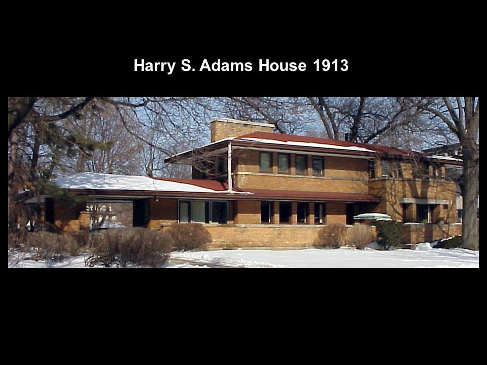 Harry S. Adams House 1913