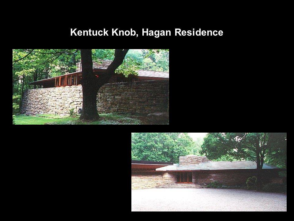 Kentuck Knob, Hagan Residence