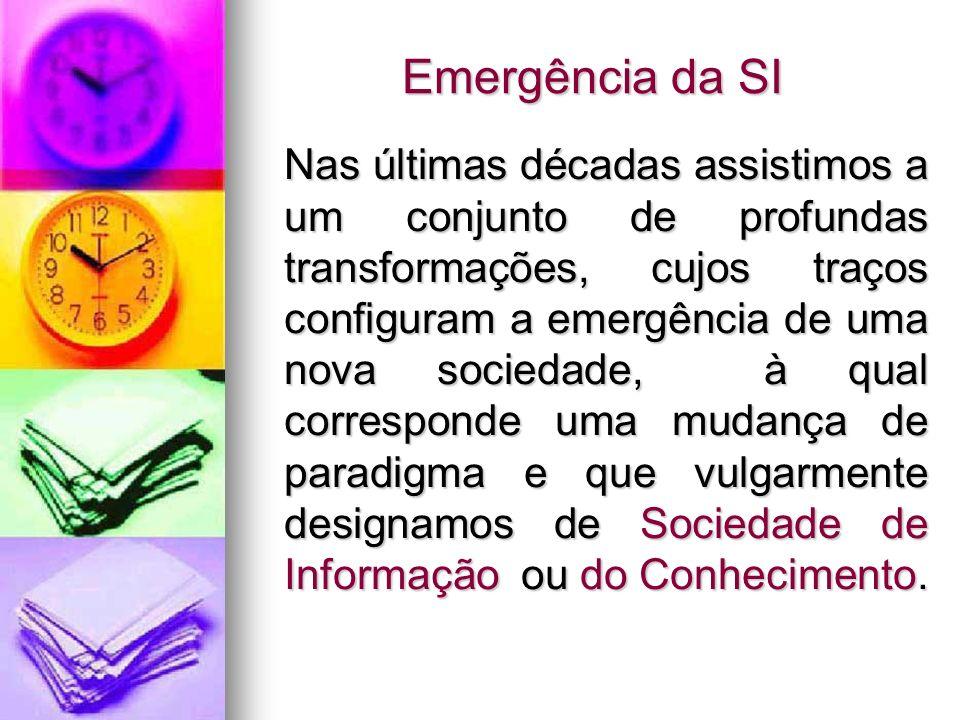 Emergência da SI