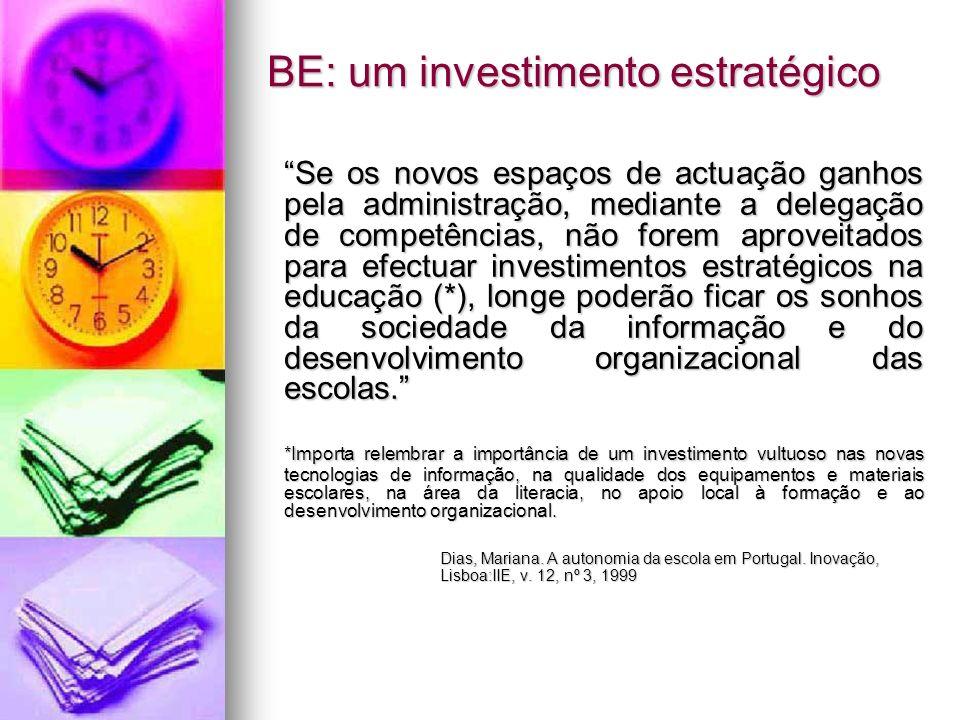 BE: um investimento estratégico