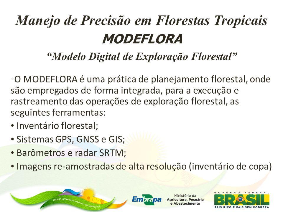 Manejo de Precisão em Florestas Tropicais