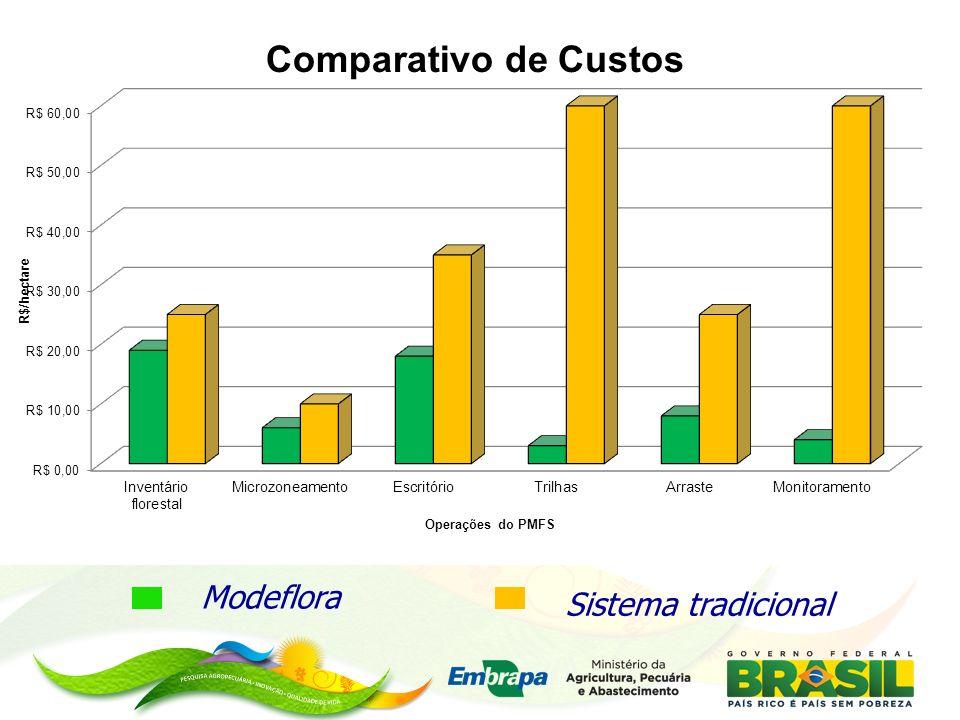 Indicadores Modeflora Sistema tradicional MINISTÉRIO DA AGRICULTURA,