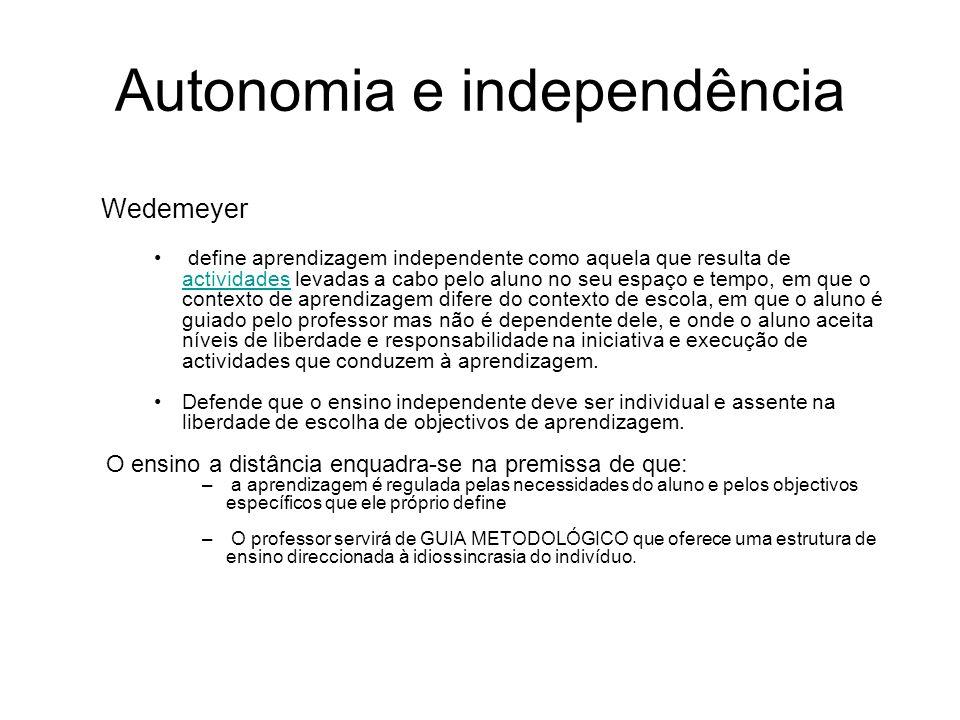 Autonomia e independência