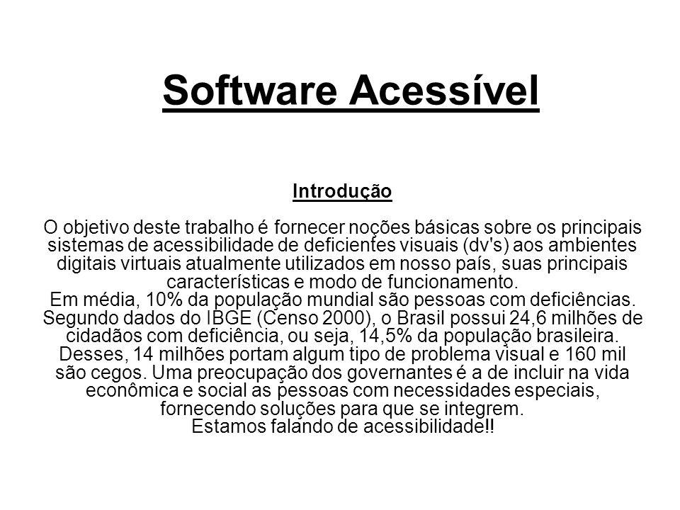 Software Acessível