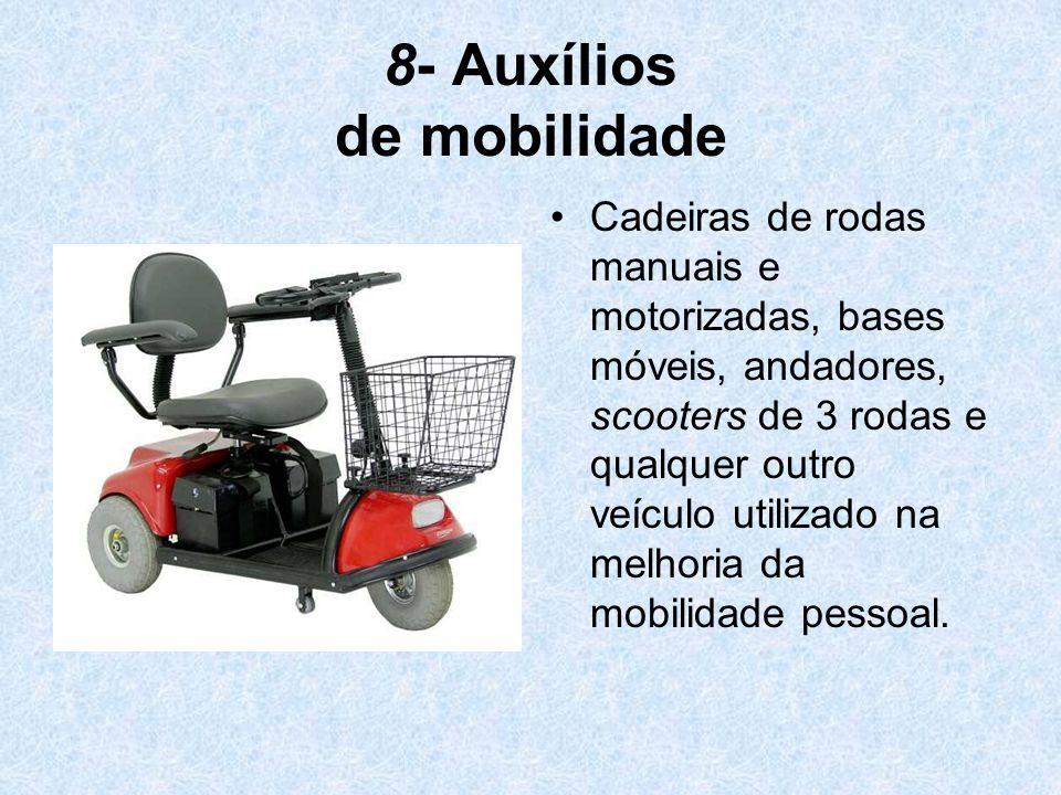 8- Auxílios de mobilidade