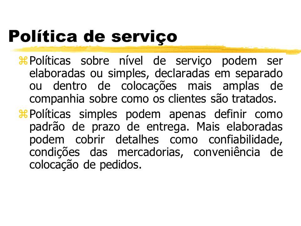 Política de serviço