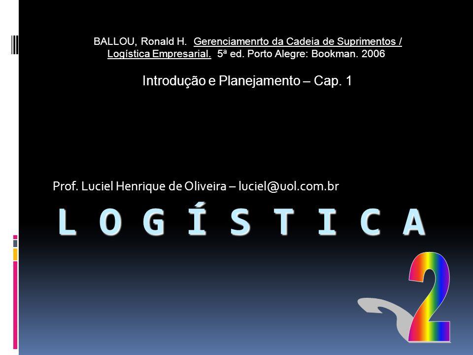 Prof. Luciel Henrique de Oliveira – luciel@uol.com.br