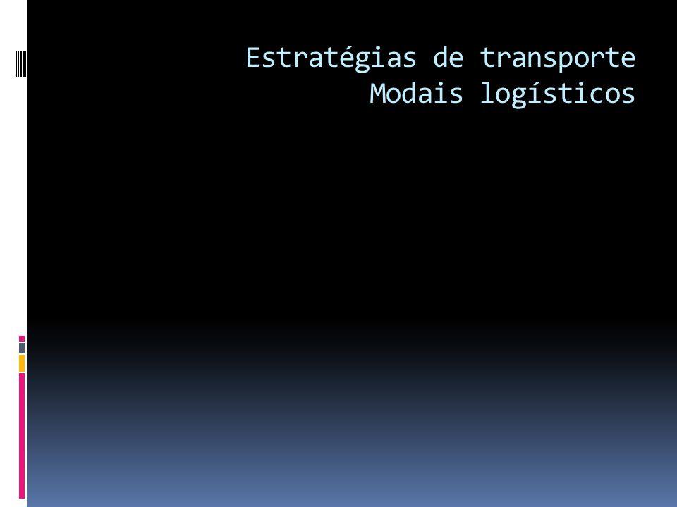 Estratégias de transporte