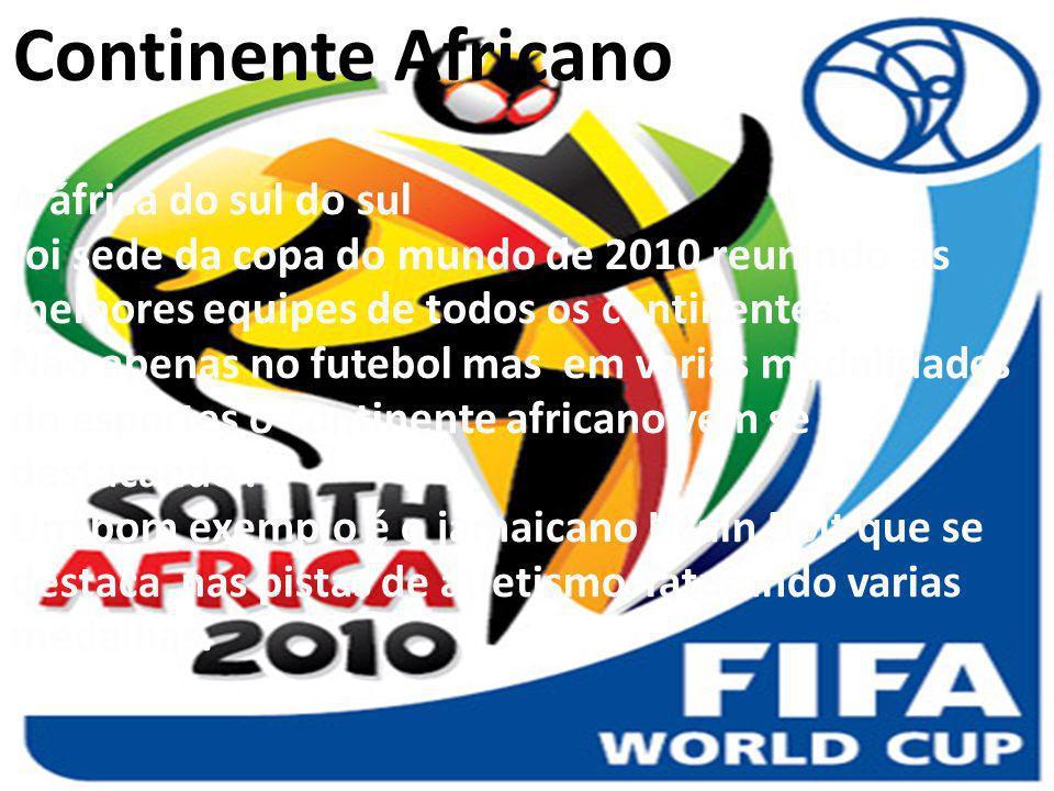 Continente Africano A áfrica do sul do sul