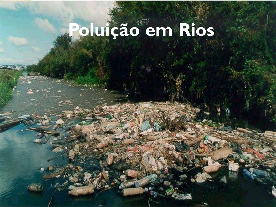 Poluição em Rios