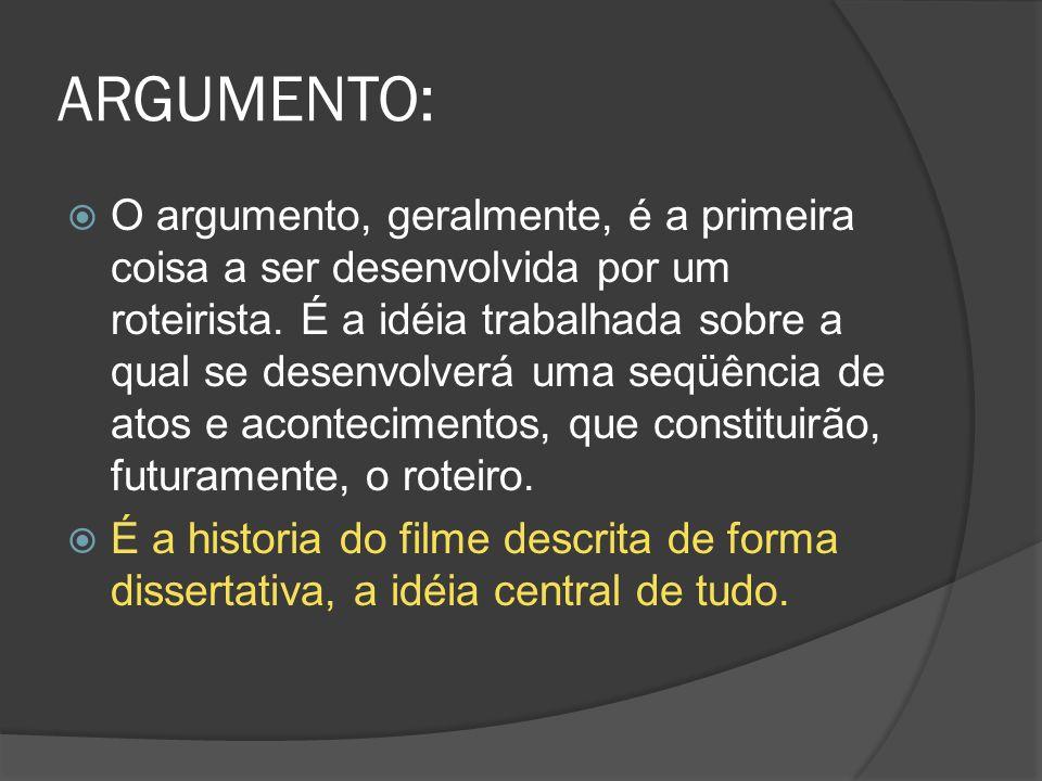 ARGUMENTO: