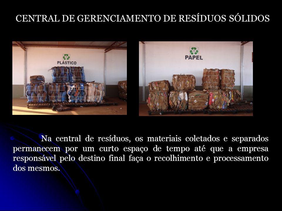 CENTRAL DE GERENCIAMENTO DE RESÍDUOS SÓLIDOS