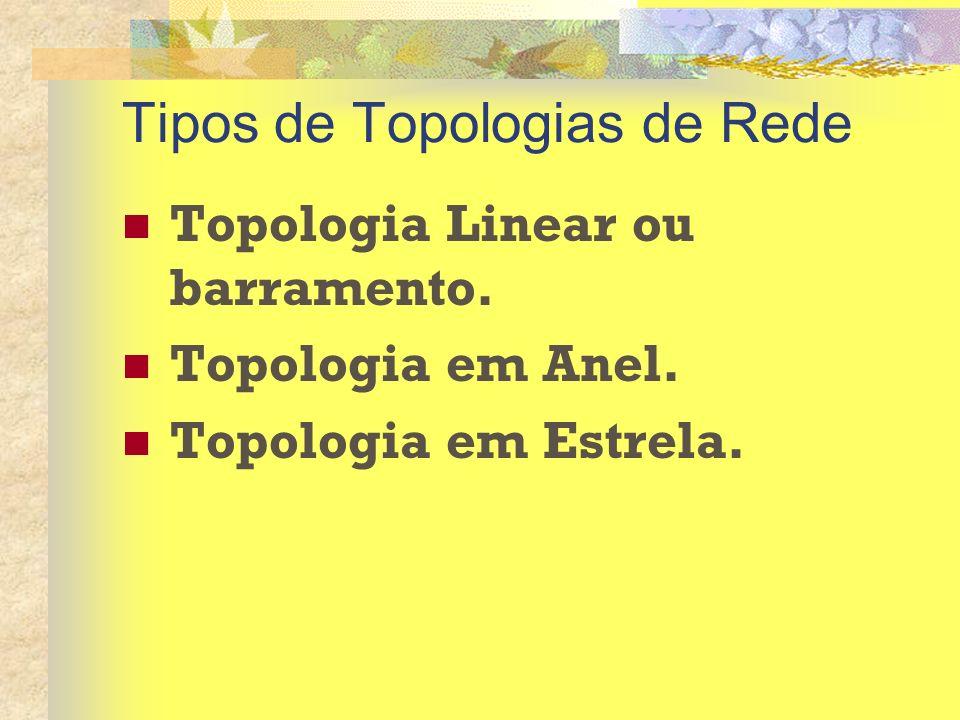 Tipos de Topologias de Rede