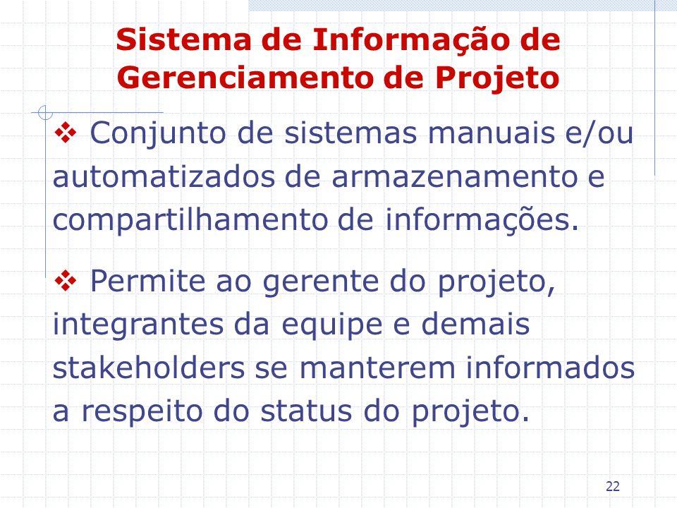 Sistema de Informação de Gerenciamento de Projeto