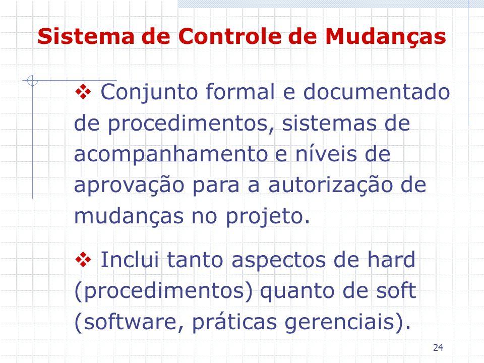 Sistema de Controle de Mudanças