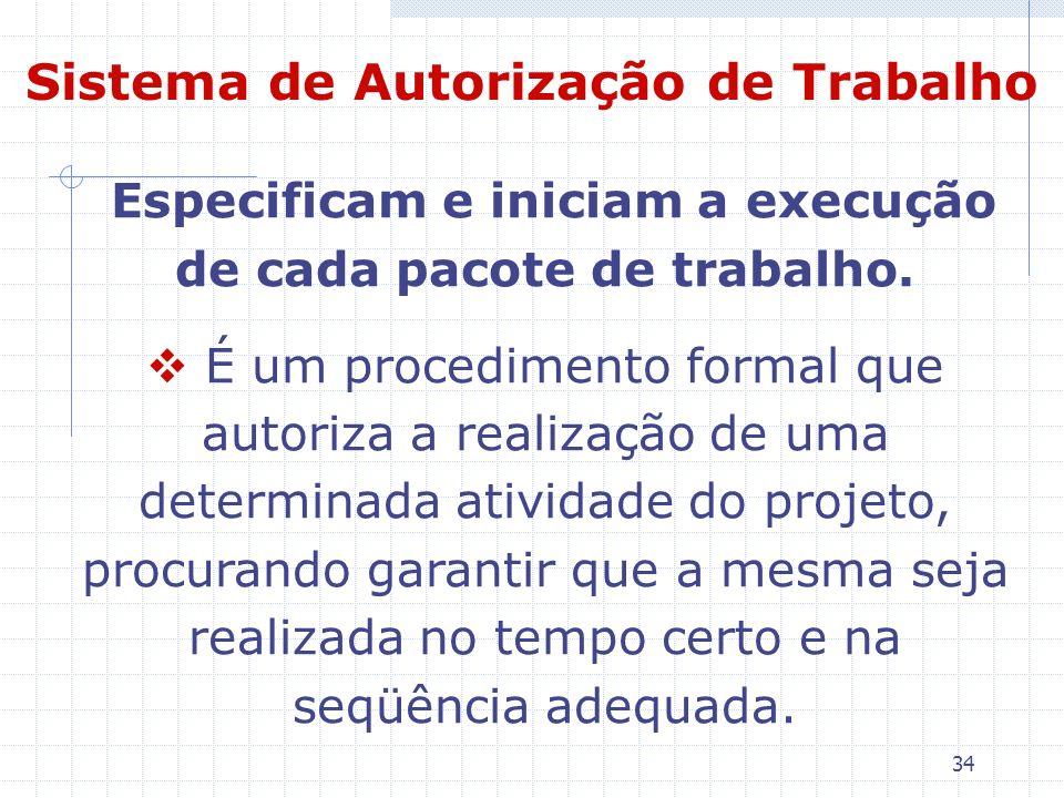 Sistema de Autorização de Trabalho