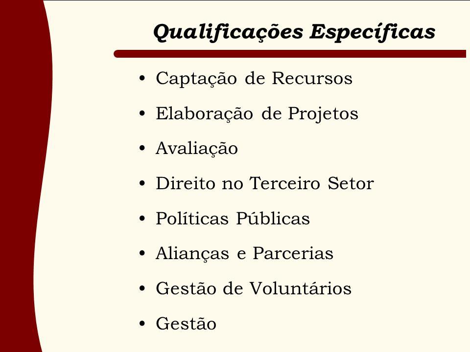 Qualificações Específicas