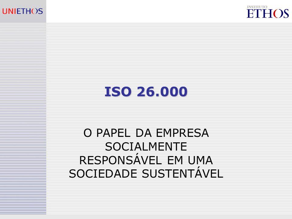 ISO 26.000 O PAPEL DA EMPRESA SOCIALMENTE