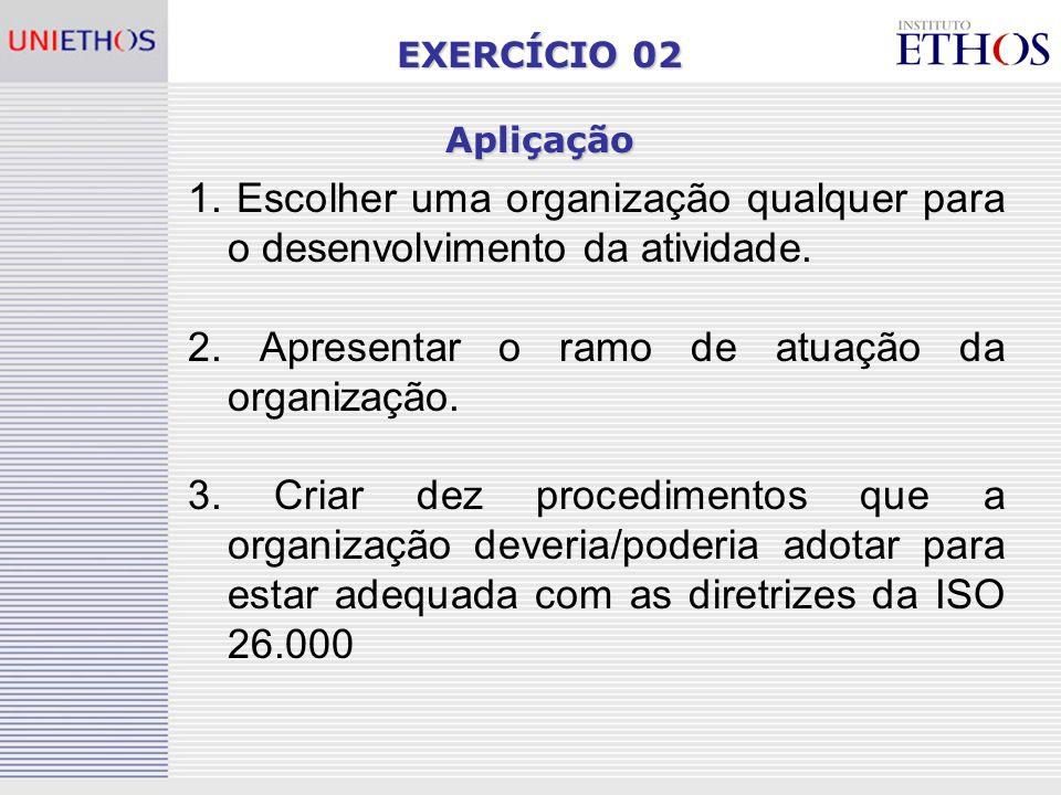EXERCÍCIO 02 Apliçação