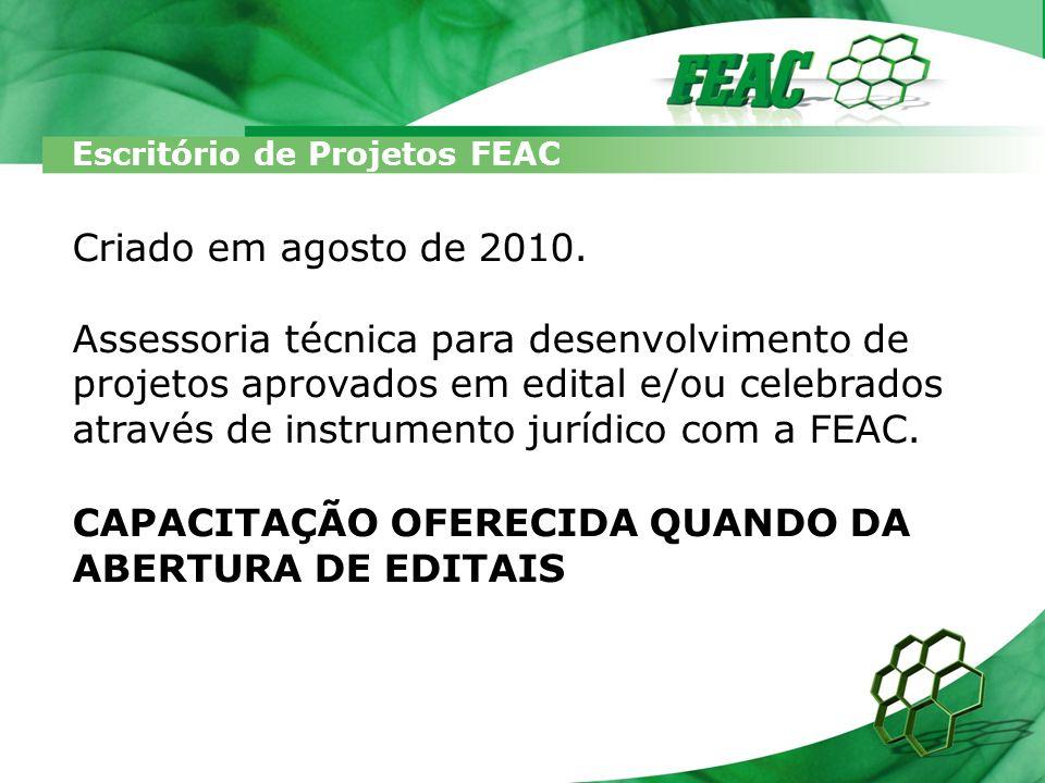 CAPACITAÇÃO OFERECIDA QUANDO DA ABERTURA DE EDITAIS