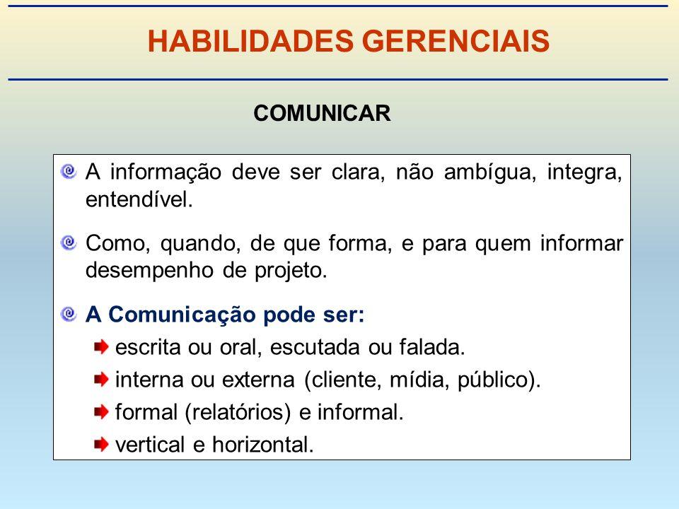 HABILIDADES GERENCIAIS