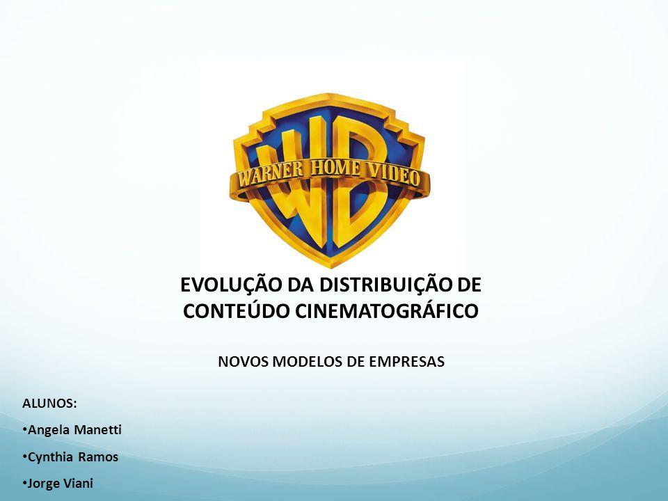 EVOLUÇÃO DA DISTRIBUIÇÃO DE CONTEÚDO CINEMATOGRÁFICO