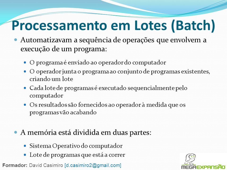 Processamento em Lotes (Batch)