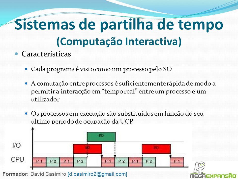 Sistemas de partilha de tempo (Computação Interactiva)