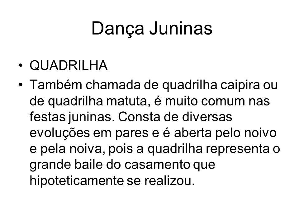 Dança Juninas QUADRILHA