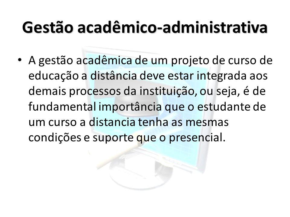 Gestão acadêmico-administrativa