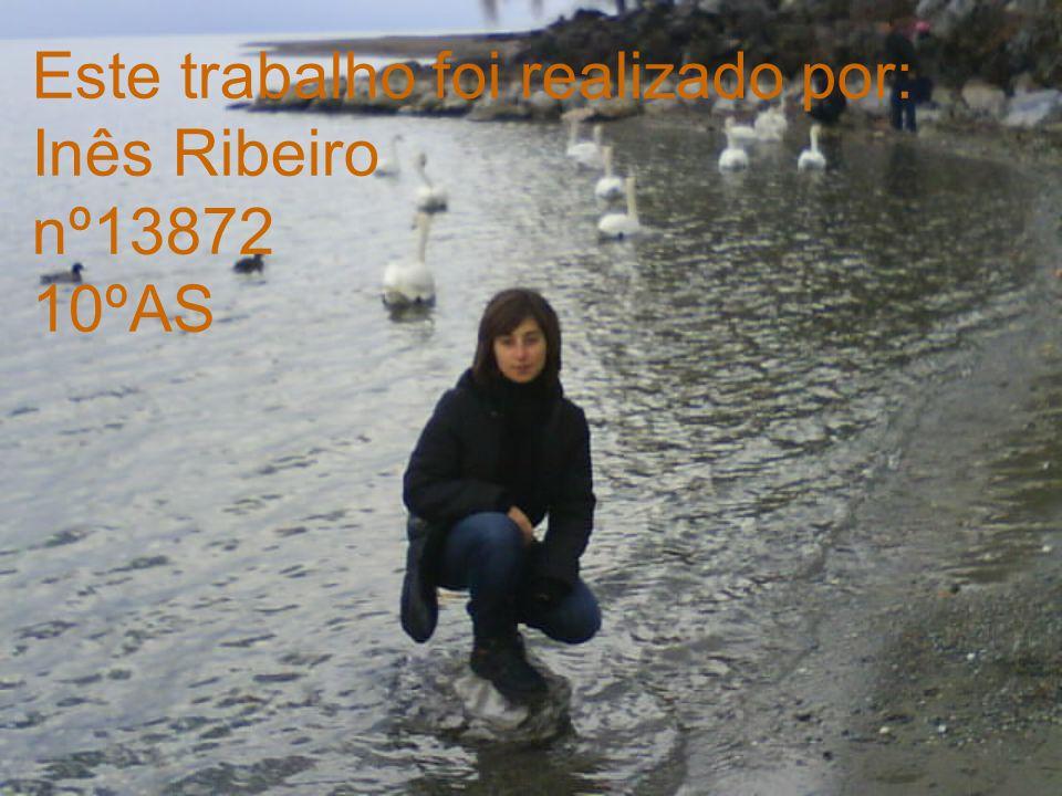 Este trabalho foi realizado por: Inês Ribeiro nº13872 10ºAS