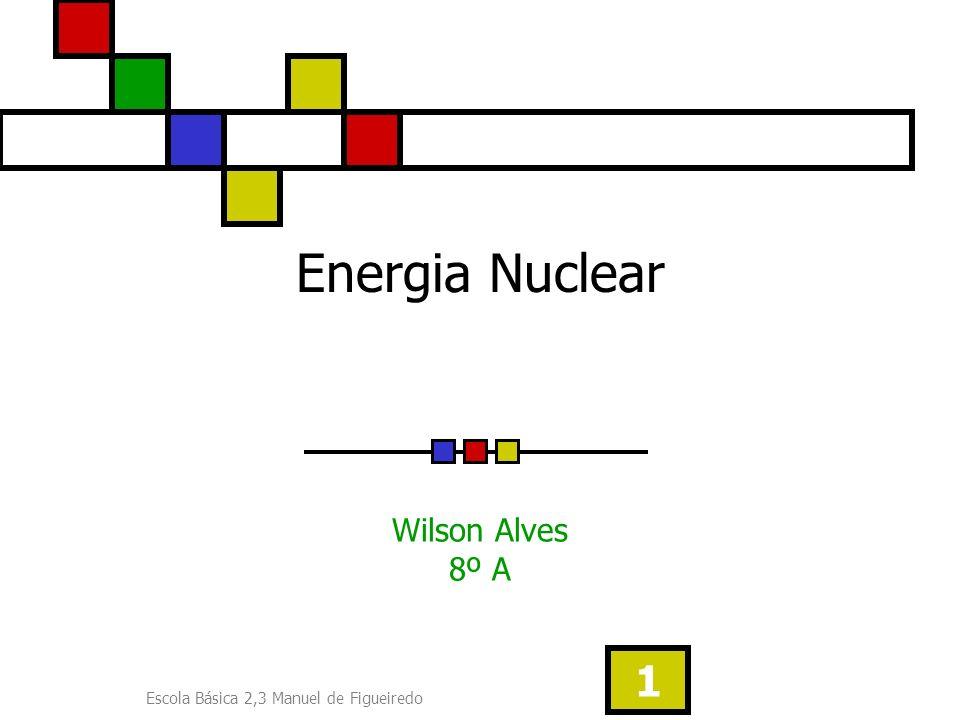 Energia Nuclear Wilson Alves 8º A