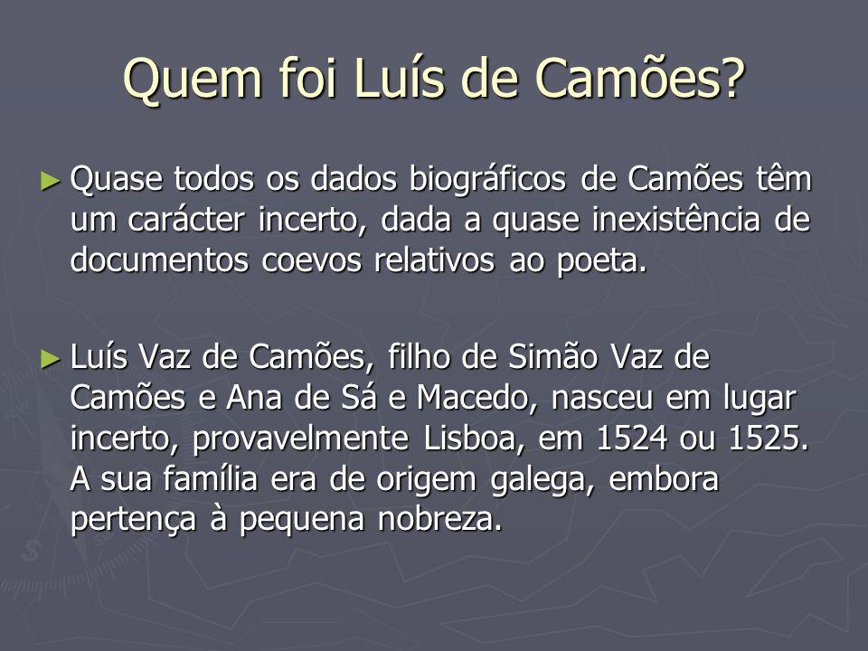 Quem foi Luís de Camões