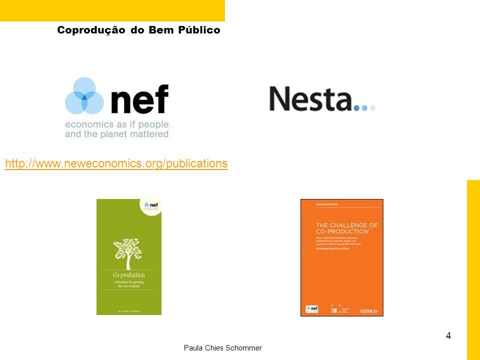 http://www.neweconomics.org/publications Coprodução do Bem Público