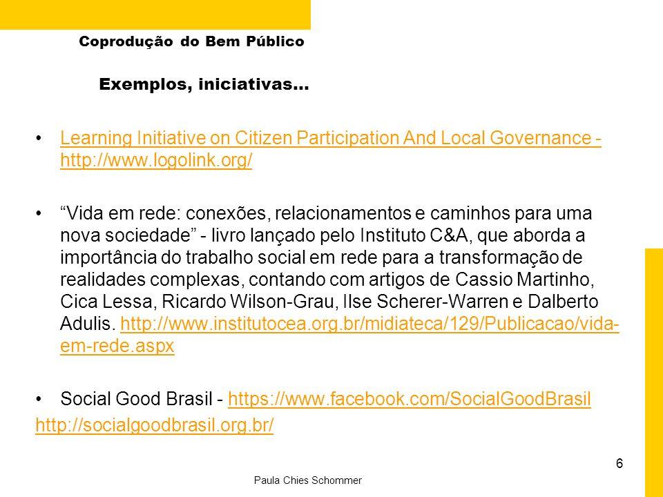 Social Good Brasil - https://www.facebook.com/SocialGoodBrasil