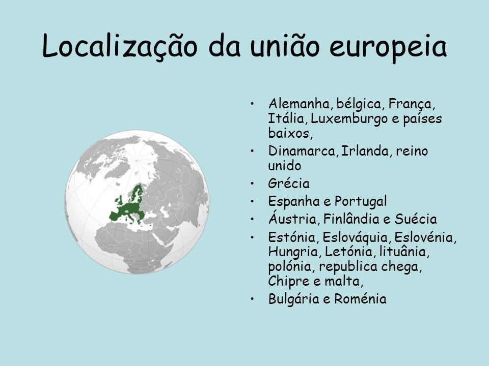 Localização da união europeia