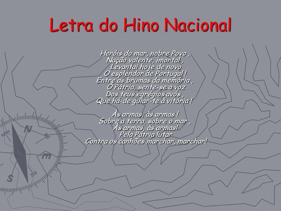 Letra do Hino Nacional