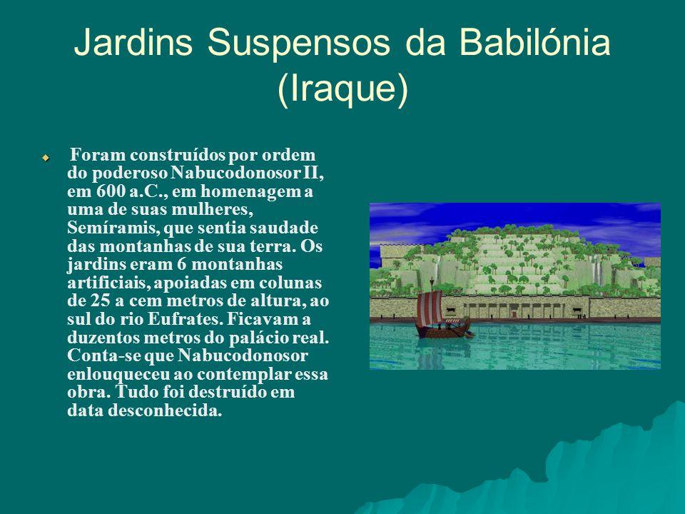 Jardins Suspensos da Babilónia (Iraque)