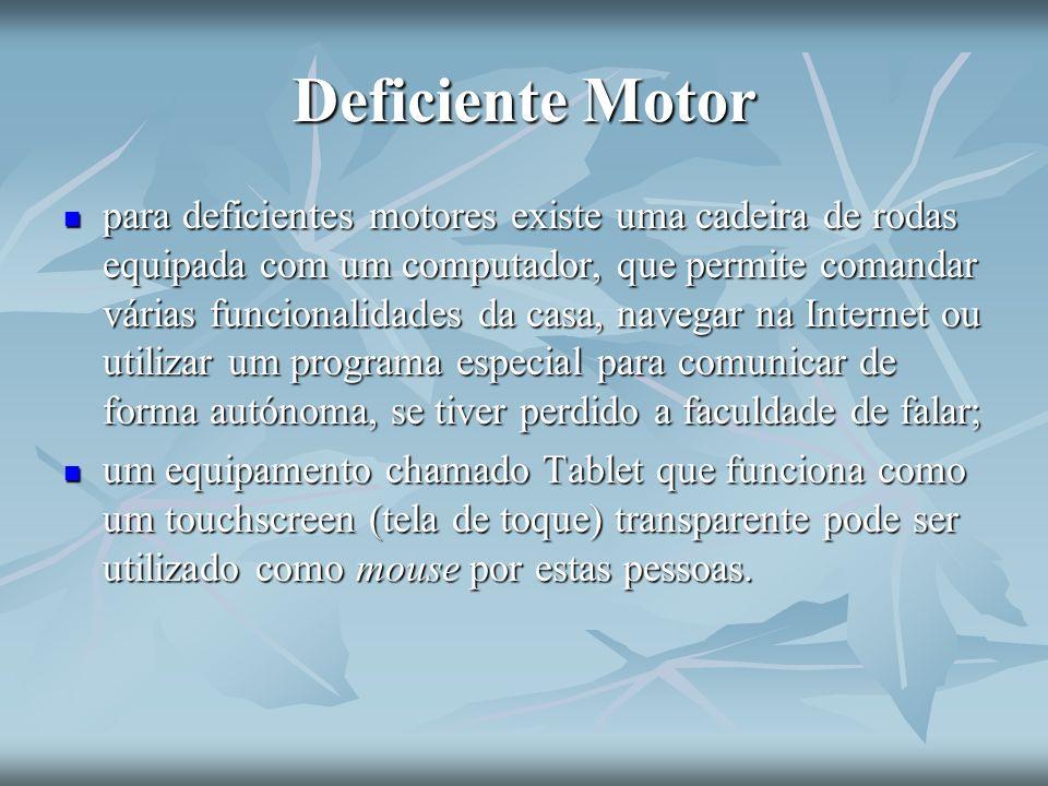 Deficiente Motor