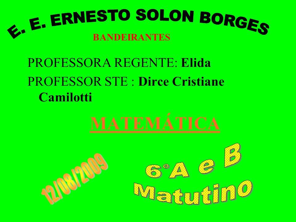 E. E. ERNESTO SOLON BORGES