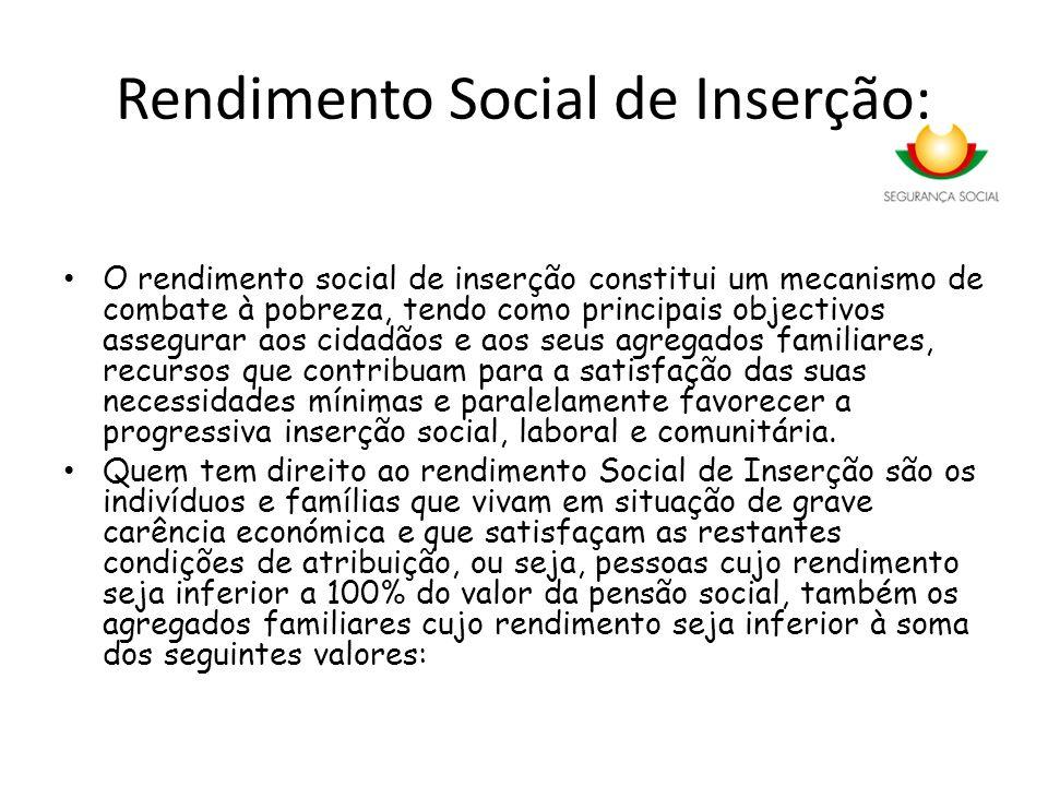 Rendimento Social de Inserção: