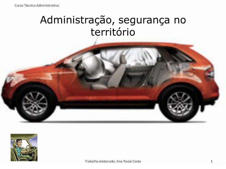 Administração, segurança no território