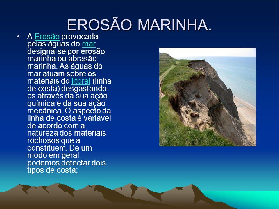 EROSÃO MARINHA.