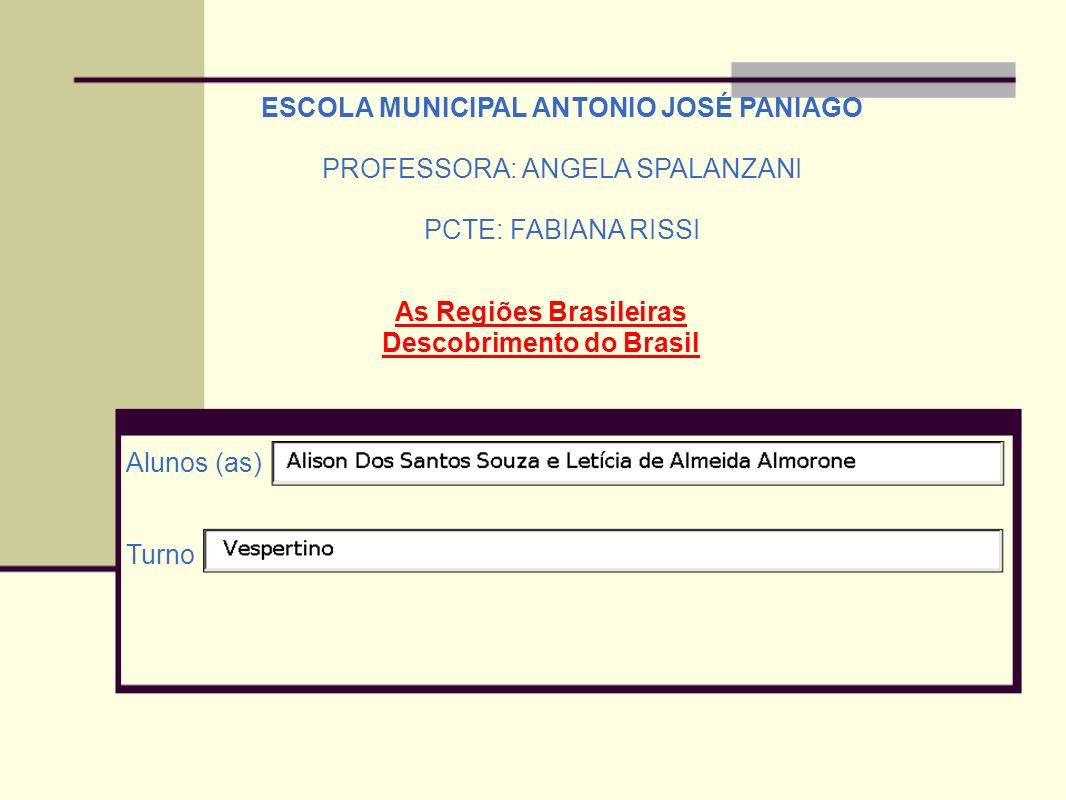 ESCOLA MUNICIPAL ANTONIO JOSÉ PANIAGO PROFESSORA: ANGELA SPALANZANI