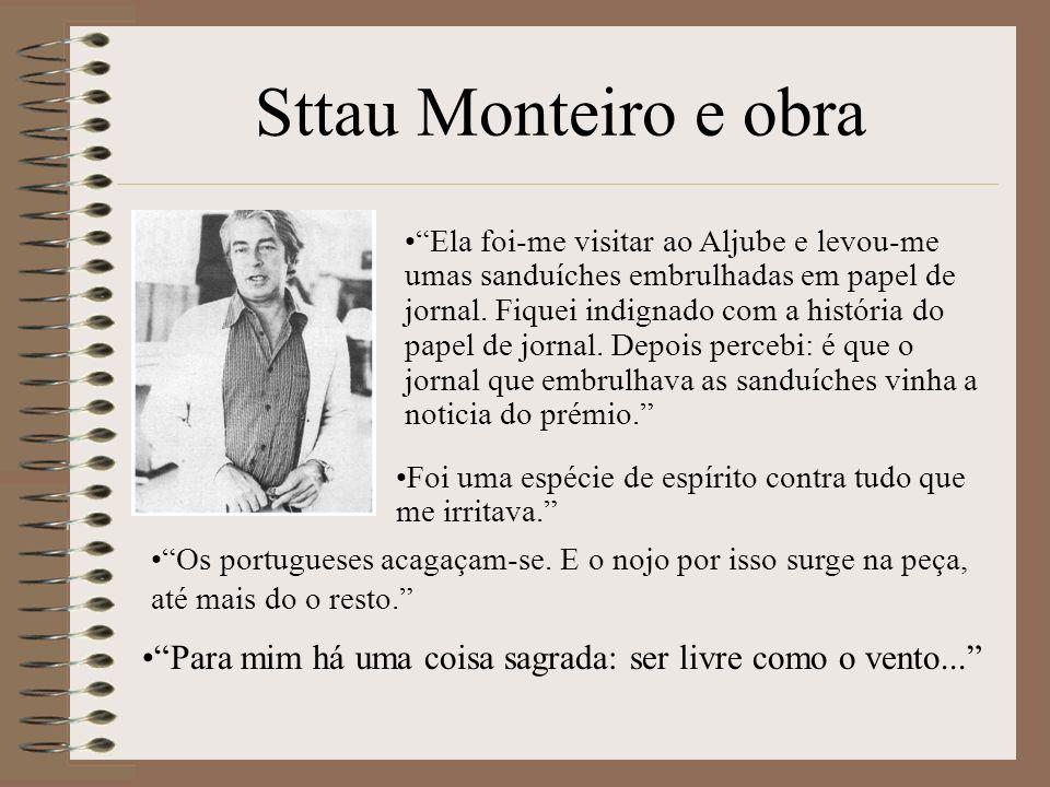 Sttau Monteiro e obra