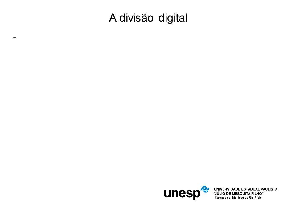 A divisão digital -