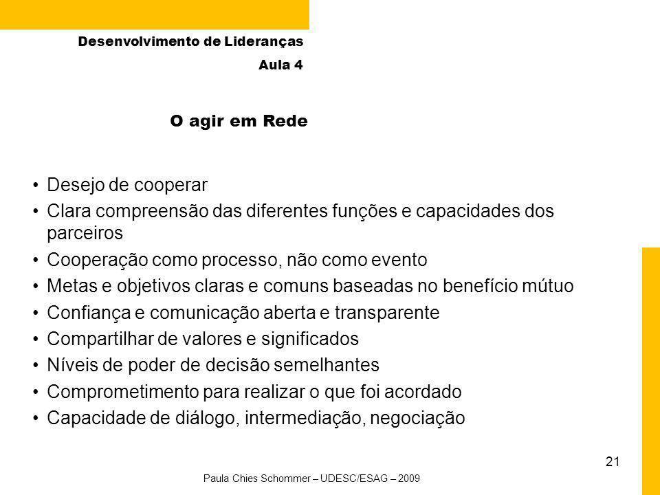 Paula Chies Schommer – UDESC/ESAG – 2009