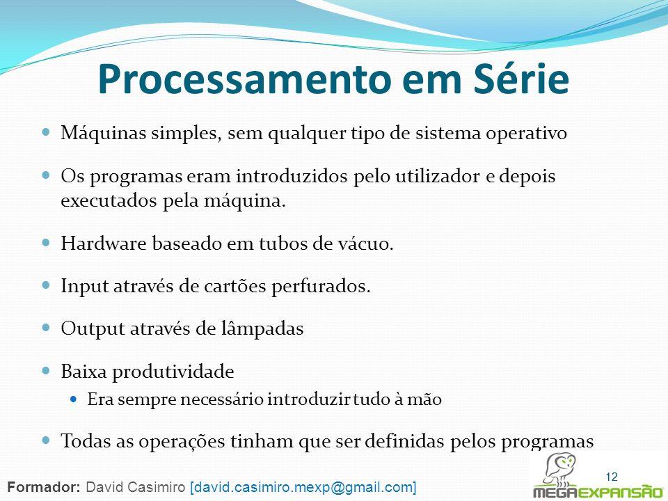 Processamento em Série