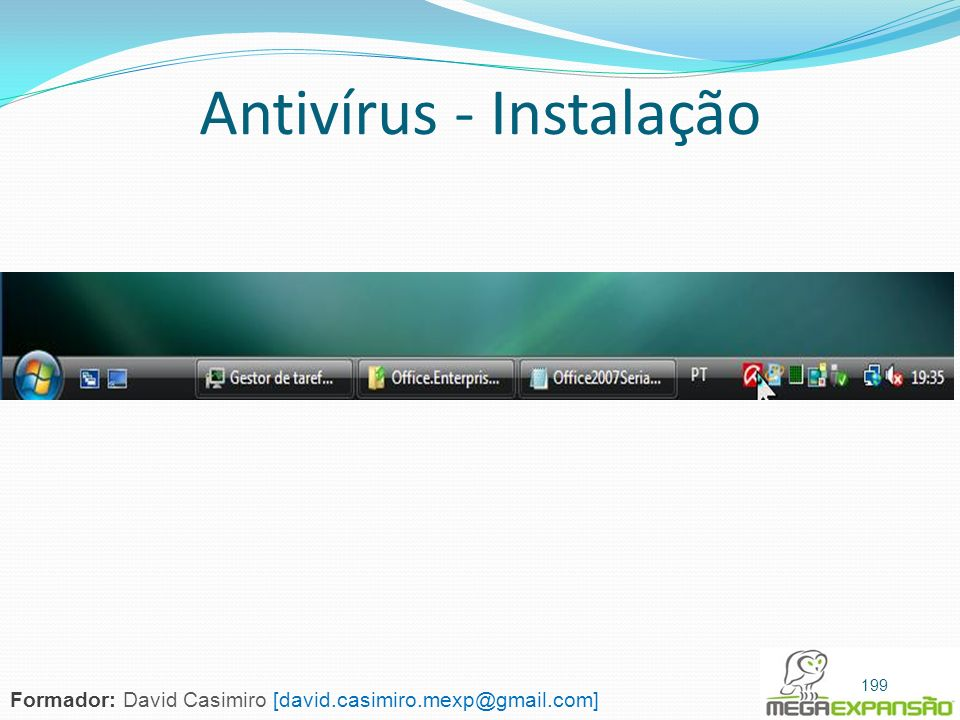 Antivírus - Instalação