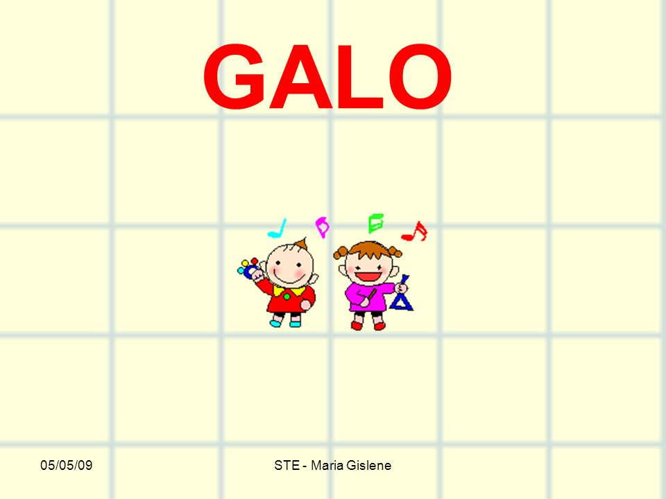GALO 05/05/09 STE - Maria Gislene